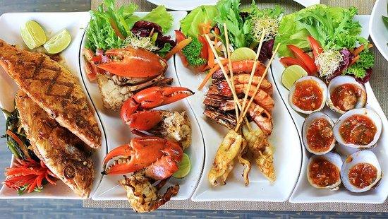 美味的海鲜大餐